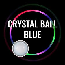 Crystal Light Blue Contacts Crystal Ball Blue