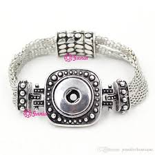 2018 100 new arrival 18mm clic chunks snap jewelry whole metal on magnet clasp jewelry snap bracelets for women pulsera bijoux from