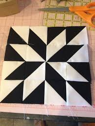 modern half-square triangle- website shows many different patterns ... & Barn quilts Adamdwight.com