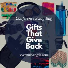 gifts that donate proceeds to charities. Wonderful Donate Gifts That Give Back U2013 A Complete Conference Swag Bag Of Charitable For That Donate Proceeds To Charities