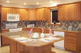 Kitchen Cushion Flooring Modern Contemporary Kitchen Island With Cabinetry Also Granite