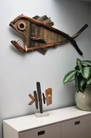 Driftwood fish from dijkstijl.com
