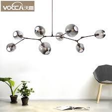 get ations after the glass shade chandelier nordic american modern minimalist living room lamp creative artistic personality villa