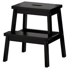 Image Glenn Ikea Wooden Step Stool Solid Wood Kitchen Step Ladder Ebay Ikea Kitchen Stools Ebay