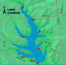 Lake Conroe Nautical Chart Lake Conroe Access
