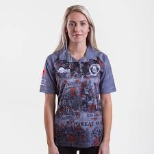 samurai army rugby union las wwi commemorative rugby shirt