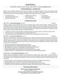 Caterer Resume Catering Resume Sample Catering Resume Example Catering Cook Resume