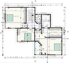 modern family house 2d dwg plan for autocad designs cad of house plan