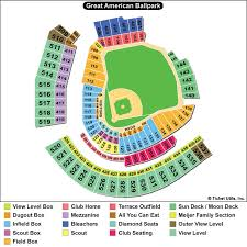 Great American Ballpark Seating Chart Rows Anta Co Reds Seat Gif