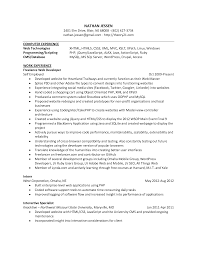 Fascinating Programmer Resume Website In 69 Sample Resume Linux