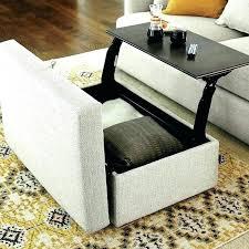 rectangular leather ottoman coffee table rectangle coffee table ottoman beautiful lift top storage ottoman and coffee