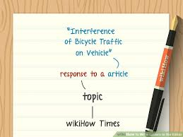 letter writing topic how to write letters to the editor with pictures wikihow