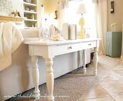 sofa table ideas. Diy Painted Foyer Table Furniture Magnificent Artistic Everett With Appeali On Buffet Decorations Sofa Ideas