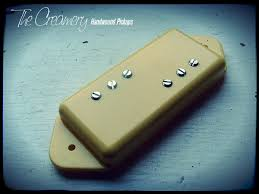 wide range tele thinline upgrade replacement humbuckers creamery replacement wide range humbucker for p90 dogear lp jnr
