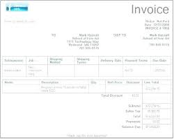 Microsoft Office Templates Invoices Microsoft Template Invoice Metabots Co