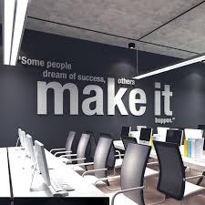 art for office walls. Make It Happen 3D Office Wall Art For Walls Moonwall Stickers