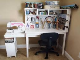 diy home office furniture. Craft Desk Plans Doors And Open Center Storage With Shelf Hutch Double Black Wooden High Chairs Diy Home Office Furniture