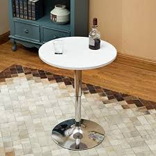 24 inches round bar table adjustable