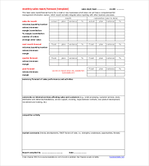Monthly Report Template Word Monthly Report Template 100 Free Word PDF Documents Download 13