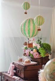 4ft X 4ft Vinyl Photography Backdrop Hot Air Balloon Wallpaper Vintage Hot Air Balloon Baby Shower