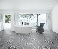 Patterned Floor Tiles Bathroom Marrakech Bellisa Silver Pattern Floor Tile Floor Tiles From