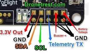 naze 32 revision 6 flight controller guide guides dronetrest naze 32 rev6 i2c pinout jpg719x433 187 kb