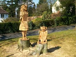 file sculpture of alice and mock turtle geograph org uk 761680 jpg