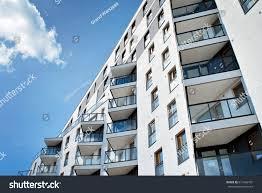 Modern Luxury Apartment Building Stock Photo  Shutterstock - Modern apartment building facade