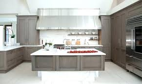grey stained maple kitchen cabinets grey maple kitchen cabinets contemporary kitchen idea in gray stained kitchen