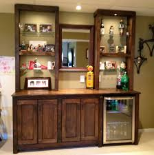 wall cabinet modern mini black mini bar home wrought