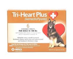 For Dogs Heart Plus Tablets Lbs 6 Treatments Dose Ivermectin