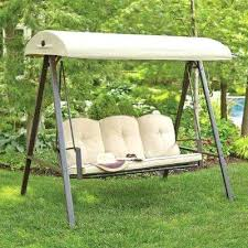 outdoor couch swing 3 person metal outdoor swing with canopy garden furniture swing seat canopy
