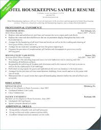 Resume For Housekeeping Job Housekeeping Resume Skills Housekeeping Magnificent Housekeeping Resume Skills