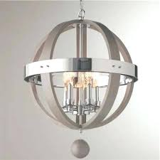 chandeliers wood sphere chandelier best collection of creative and chrome barrel inside ceiling lamp wood sphere