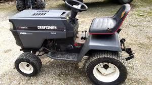 craftsman garden tractor. Wonderful Craftsman 94 Craftsman II GT6000 Garden Tractor For A