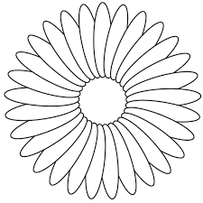 Small Picture Flower Coloring Template Flower Coloring Page