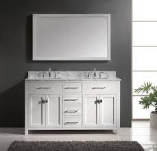 alluring bathroom sink vanity cabinet. Cheerful Decorating Ideas Using Rectangular Brown Rugs And White Wooden Vanity Cabinets Alluring Bathroom Sink Cabinet E