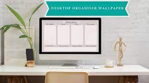 Desktop Organiser, Desktop Wallpaper ...