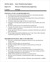 Production Engineering Job