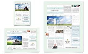 mortgage flyers templates mortgage lenders flyer ad template design