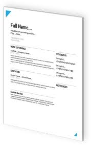 Resumes For Google Google Docs Resume Templates By Visualcv