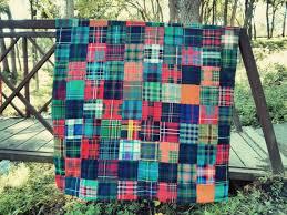 priced - 10% off! Warm Handmade Quilt of Authentic Wool Scottish ... & Warm Handmade Quilt of Authentic Wool Scottish Tartan (McGregor) Adamdwight.com