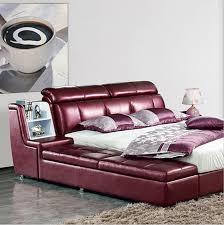 Modern Luxury Bedroom Furniture Furniture Bed Furniture Foshan Fancy Leather Design Bedroom