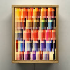 Light In The Box Color Chart Textile Color Charts Patterns Mid Century Psychedelia 11x9 Lightbox