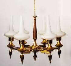 Details Zu Sputnik Kronleuchter 50er 60er Opalglas Vintage Ulrich Gio Ponti Messing Italien