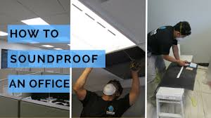 soundproofing office space. Soundproofing An Office Ceiling Space O