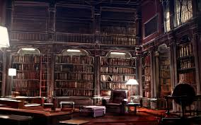 Cool Library Wallpaper