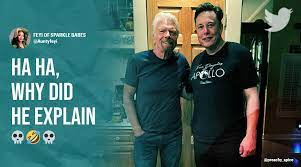 Elon Musk defends his 'brutal pic' with Richard Branson, leaves netizens in  splits | Trending News,The Indian Express