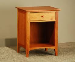 Cherry Pond Cambridge 1 Drawer Nightstand Scott Jordan Furniture