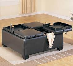 rectangular leather cocktail ottoman square cocktail ottoman square cocktail table with 4 ottomans
